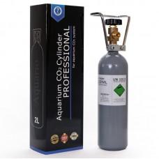 Баллон CO2 Aquario BLUE 2 л 47 см - с клапаном