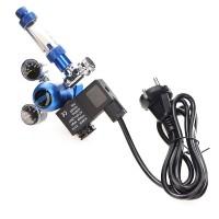 Редуктор Aquario BLUE Professional с электромагнитным клапаном